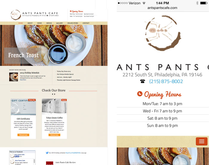 Ants Pants Cafe